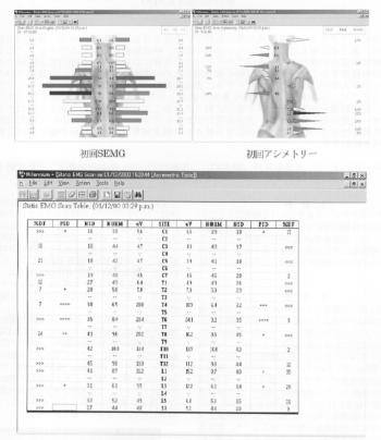 日常臨床業務における表面筋電計による治療効果の査定の表紙