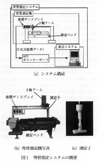 カイロプラクティックのためのCGを用いた人体背骨測定システムの開発の表紙