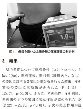 股関節マイクロ牽引が非特異的腰痛に及ぼす即時的効果の表紙